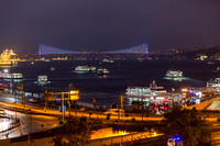 Galata Bridge Lights