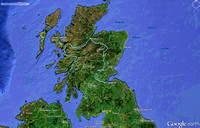 Scotland Travel Route