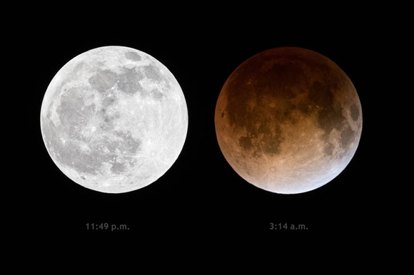 Blood Moon 4/15/2014