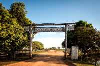 Entrance to the Trans Pantanal Highway