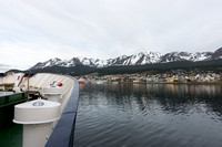 Arriving in Ushuaia